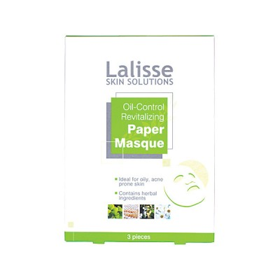 Oil Control Revitalising Paper Masque 3pcs
